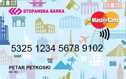 Stopanska banka - MasterCard debit card